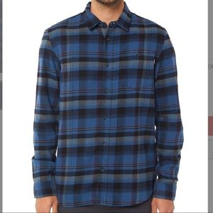 O'Neill Men's Redmond Plaid Brushed Flannel NWT